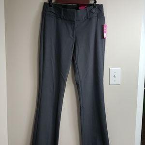 NWT Gray Marilyn Bootcut Candies Dress Pants